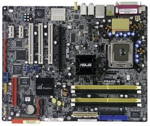 Asus P5AD2-E Premium Motherboard with Intel P4 SL7Z8